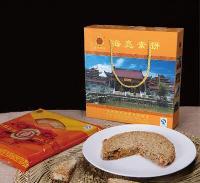 海亮素饼(单个)礼盒装温州桥墩老字号桥亮月饼中秋送礼团购批发
