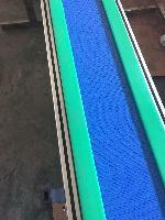 供应铝型材网带链板输送线,塑料网带输送线