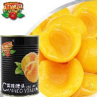 厂家直销红派司烘焙餐饮专用黄桃罐头820g