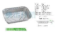 批发WB-213高档环保套餐铝箔外卖盒
