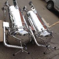 不锈钢304饮料袋式过滤器100吨每小时外观精美质量保证