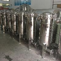 厂家供用空调循环水过滤设备袋式精密过滤器