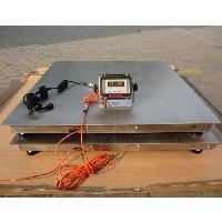 供应食品厂不锈钢地磅5吨 防腐蚀不锈钢电子秤