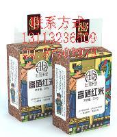 富硒红米【状园米业】保证出品米种均为低产型原生稻种!