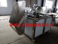 自动搅拌炒米油炸机(专业炸炒米机器)