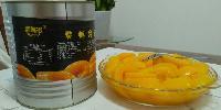 *餐饮业3000克大包装铁听糖水黄桃罐头  6罐装  特美味