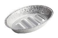 一次性铝箔餐盒容器烧烤烘焙店专用锡纸盒可印LOGO