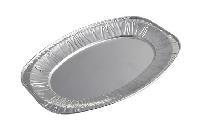 绿色环保锡纸航空酒店专用品一次性烧烤鱼盘铝箔餐盒容器