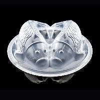一次性塑料碗,双鱼碗,食品碗,年糕点