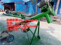 移动式电动蛟龙上料机 圆管自吸式粮食提升机