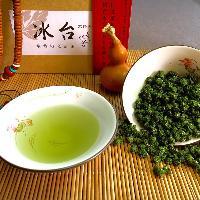 艾草茶(冰台颗粒状茶型汤色翠绿轻柔香甜)