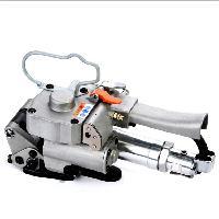 【厂家供应】塑钢带打包机气动捆包机气动钢带免扣打包机