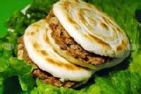 武汉哪里有正宗肉夹馍馍技术,正宗的肉夹馍技术培训只需要1280