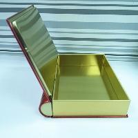 书本包装铁盒马口铁书形盒定制