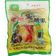 新繁泡菜老实牌老坛鱼酸菜400g