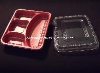 C08 多格 一次性餐具 饭盒 便当盒 外卖盒盒