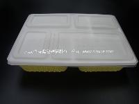 GP-402 一次性餐盒 分体加厚四格 外卖盒