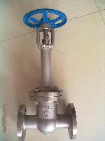 WZ40H-40型波纹管闸阀,加长杆闸阀,加长杆低温法兰闸阀