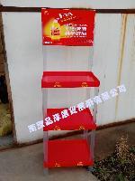 【龙头厂家】健康油塑料托盘货架食用油三层陈列架油脂促销展柜