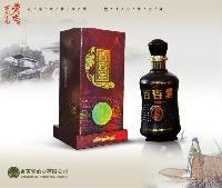53度百吉堂牌固元酒500ml 礼盒包装