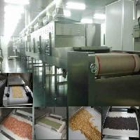 高产量微波大豆脱腥灭酶设备
