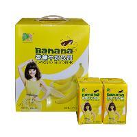 香蕉牛奶(盒装)
