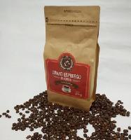 新鲜烘焙 lecoffee乐咖啡意式特浓咖啡豆 包装454g 可自封 包物流