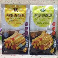春鑫国宝荔枝园香酥条奶油味、香蒜香酥条 朋友欢聚*零食