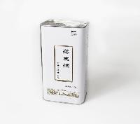 亚麻籽油包装铁罐 红花籽油礼品铁罐包装 食用油包装设计