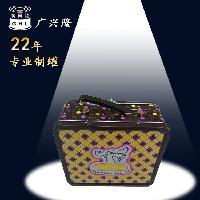 马口铁午餐盒 手提午餐铁盒 外贸午餐盒定制