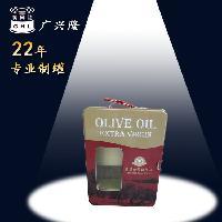 食用油橄榄油礼品包装铁盒马口铁开窗大油箱