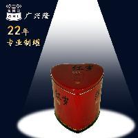 高身心形茶叶罐马口铁茶叶包装定制