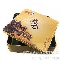 厂家定制月饼铁盒  高档马口铁月饼盒