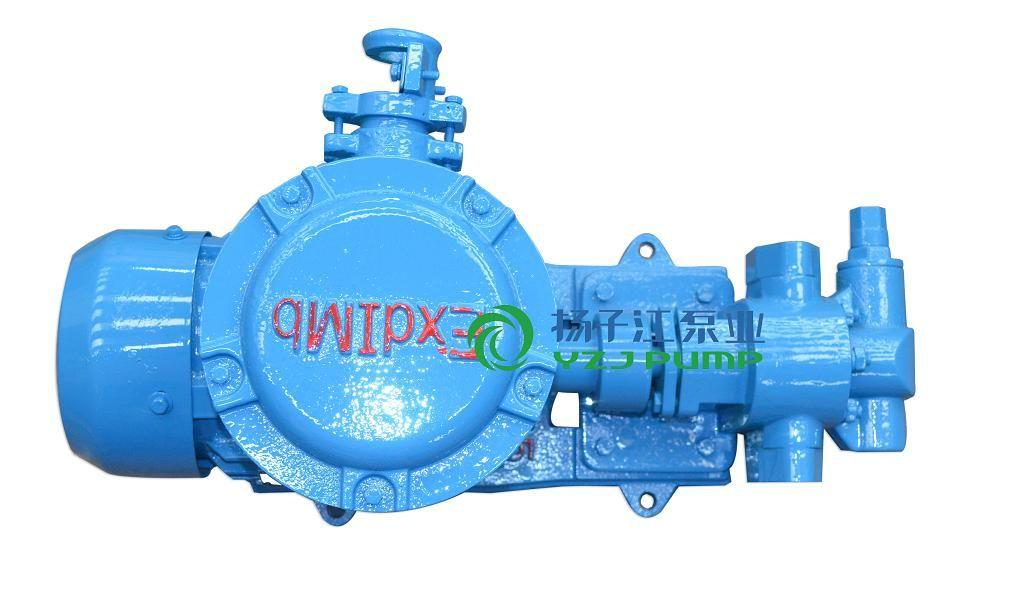 油泵:KCB/2CY防爆带煤安证齿轮式输油泵
