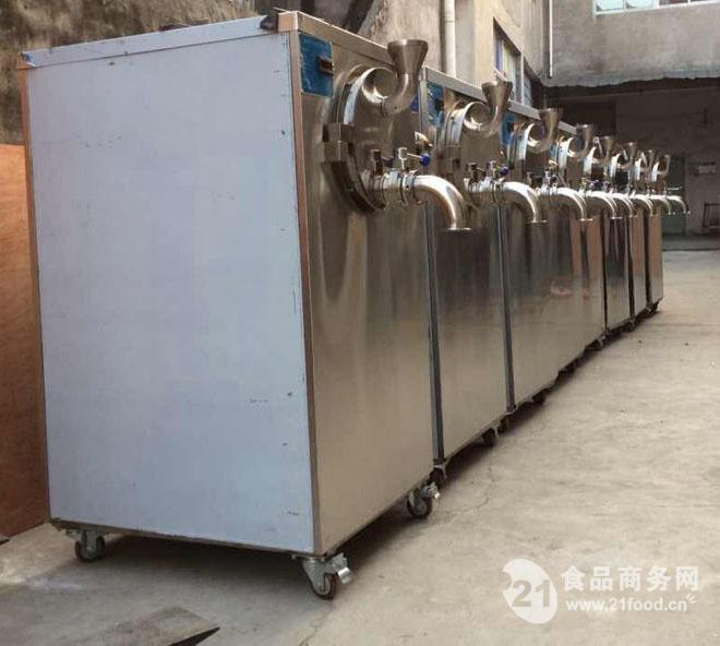 进诚绿豆沙冰机 专业生产绿豆沙冰生产线 全自动设备厂家