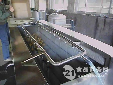 供应诚品毛刷土豆清洗机 胡萝卜清洗机 质量可靠效率高