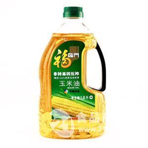 一级食用玉米油