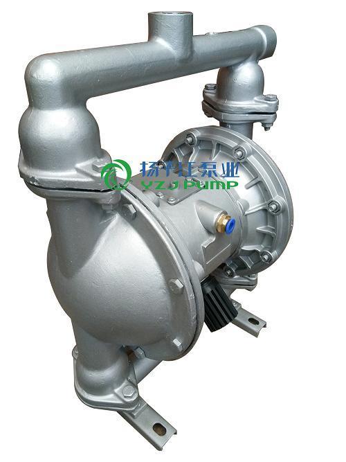 QBY-40铝合金材质隔膜泵 气动泥浆泵