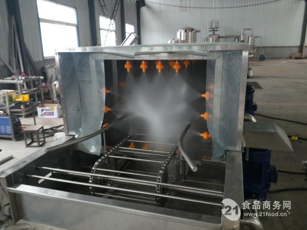 周转筐清洗机 食品托盘清洗机厂家定制