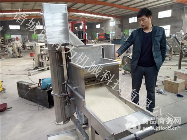 全自动上校鸡块上粉裹粉机专业厂家直销
