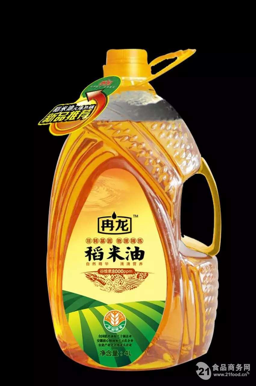 冉龙非转基因压榨型稻米油