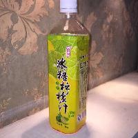 恒记冰糖柠檬汁浓缩果汁浓缩柠檬汁1000g 奶茶原料批发 整箱12瓶