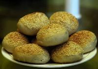 麻酱烧饼培训学习 到学做老北京烧饼