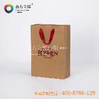 溫州廠家 創意定做 2015年熱銷ROSHEN手提袋-L 紙袋