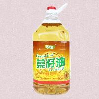 和顺鑫食用油双低非转基因纯物理压榨菜籽油5l/瓶