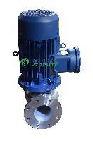 管道泵厂家:IHG不锈钢耐腐蚀管道泵 不锈钢立式管道泵