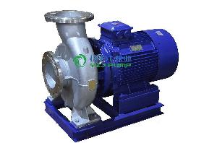 管道泵:ISWH型卧式单级不锈钢管道离心泵