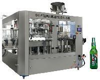 全自动玻璃瓶汽水灌装机