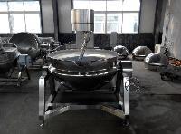 酸笋专用燃气式行星搅拌夹层锅