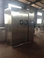 不锈钢自动感应风淋室